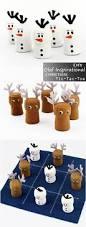 diy olaf inspirational christmas tic tac toe u2013 easy kid art craft
