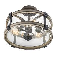 kichler barrington ceiling fan home lighting rustic flush mount ceiling fans with lights outdoor