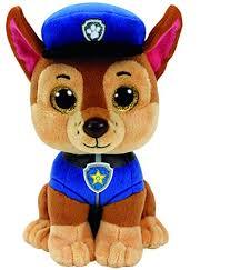 amazon ty paw patrol chase shepard dog reg plush toys u0026 games
