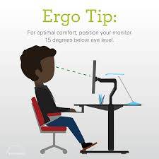 Humanscale Sit Stand Desk by Humanscale Ergonomic Tip For Optimal Comfort Position Your
