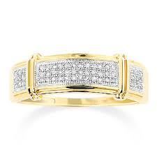 inexpensive wedding bands mens diamond wedding band 0 18ct 10k gold