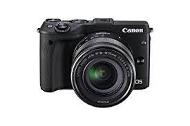 amazon black friday camera sale amazon com canon eos m3 mirrorless camera kit with ef m 18 55mm
