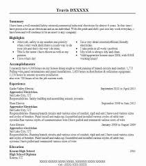 sample resume for electrician best apprentice electrician resume example livecareer
