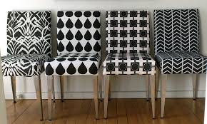Patterned Dining Chairs Dining Room Get Fabric Dining Chairs That Strong And Easy To Care