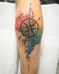 best 25 viking compass tattoo ideas on pinterest norse tattoo