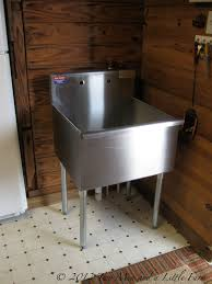 Stainless Steel Laundry Room Sink by Two Men And A Little Farm Utility Sink For Mudroom