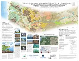 Map Of Columbia Forces Of Columbia River Featured On New Map Poster U2013 Washington