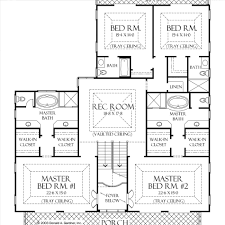 Floor Plans House Plans With Master Suites Floor Plansplit Bdrm