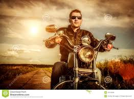 motorcycle biker jacket biker on a motorcycle royalty free stock images image 32416299