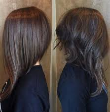 bob hairstyles that are shorter in the front just the front of your new haircut can sweep the collarbones for a