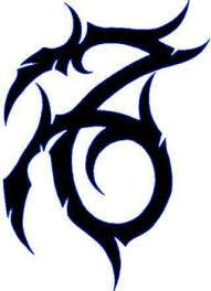awesome tribal capricorn tattoo design sabloane pinterest