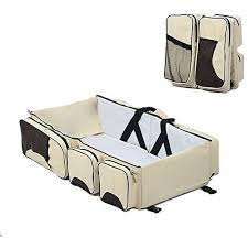 household masters baby travel bed u0026 magical baby bag 4 in 1