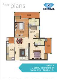 study room floor plan sb group s b crystal floor plan flats for sale in nh24 ghaziabad