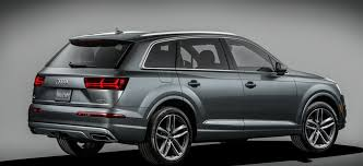 suv audi audi updates one of their best sellers as the 2017 audi q7 is released