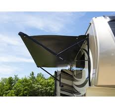 Rv Shade Awnings Lippert Solera Powered And Hybrid Standard And Xl Rv Awnings