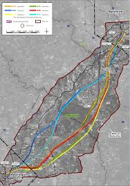 baltimore routes map potential routes for high speed maglev rail line unveiled prince