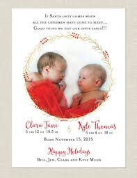 newborn hoilday card and birth announcement