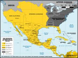 Mexico On Map Mexico Maps W Stats In Map Of Spanish World Maps