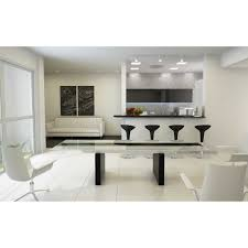 Glass Top Kitchen Table by Modern Glass Kitchen Table