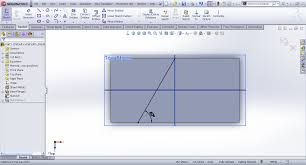 tutorial jog feature sheet metal in solidworks grabcad
