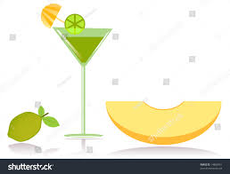 summertime cocktail party food clipart stock illustration 14869051