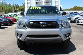 lexus of north miami directions pre owned 2014 toyota tacoma prerunner crew cab pickup in miami