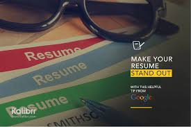 Google Jobs Resume Upload by The Perfect Resume Kalibrr Career Advicekalibrr Career Advice