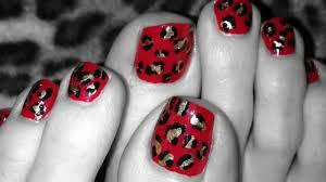 my february 2013 toe nail art designs pt 2 youtube