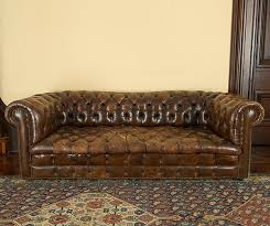 Chesterfield Tufted Leather Sofa Chesterfield Tufted Leather Sofa Sofa Brownsvilleclaimhelp