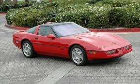 1987 corvette specs 1987 c4 corvette guide overview specs vin info