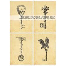 sale aceo skeleton ornamental skull