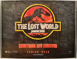 the lost world jurassic park jurassic park ii the lost world u003cp u003e u003ci u003e teaser quad poster u003c i