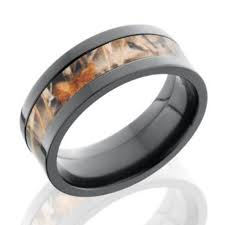 camo wedding rings for him and black zirconium realtree ring max 4 or ap wedding band camo