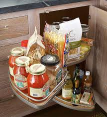 Corner Kitchen Cabinet Storage by How To Deal With The Blind Corner Kitchen Cabinet Live Simply By