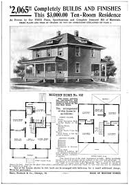 Mission Style House Plans House Plans American Four Foursquare House Plans Colonial Home