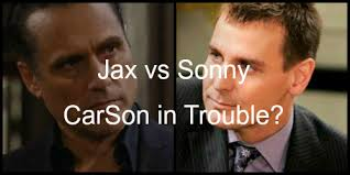 carly jax new haircut general hospital spoilers jax back carly and sonny marriage in