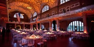 wedding venue island ellis island statue of liberty weddings