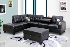 Black Faux Leather Sofa Outstanding Leather High Resolution Wallpaper