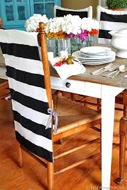 Diy Dining Room Chair Covers by No Sew Chair Back Covers Iron Fabrics And Chair Covers