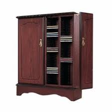 Cd And Dvd Storage Cabinet With Doors Oak Finish Dvd Storage With Doors Foter