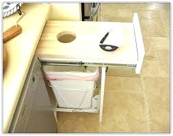 trash cans for kitchen cabinets amazing kitchen trash can cabinet or kitchen cabinet trash bin free
