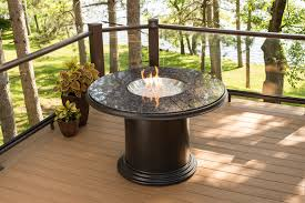 Outdoor Furniture With Fire Pit Table by Outdoor Tables With Fire Pit