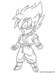 dragon ball super saiyan free coloring coloring pages printable
