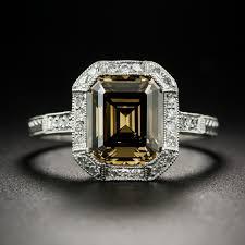 brown diamond engagement ring 2 67 carat fancy brown diamond ring