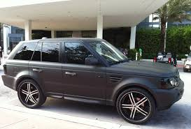 range rover sport custom wheels matte black range rover sport supercharged exotic cars on the