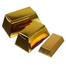 gold bar favor box