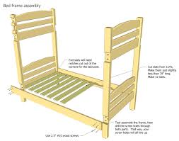 Plans For Making A Loft Bed by Bunk Bed Plans