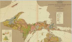 Map Of The Upper Peninsula Michigan by Quarternary Geology Of Northern Michigan