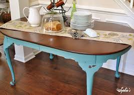 chalk painted kitchen tables