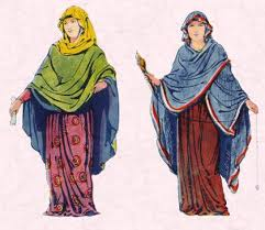 anglo saxons hair stiels early clothing in costume history saxon frankish and anglo saxon